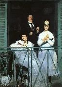 Edouard Manet The Balcony oil painting artist