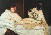 Edouard Manet Olympia oil painting