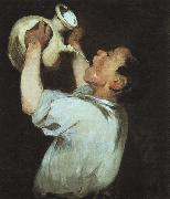 Edouard Manet Boy with a Pitcher oil painting artist