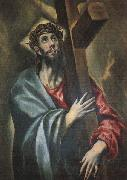 El Greco Christ Carrying the Cross oil on canvas