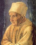 Filippino Lippi Portrait of an Old Man   111 oil on canvas