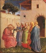 Fra Angelico The Naming of John the Baptist oil on canvas