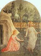 Fra Angelico Noli Me Tangere oil on canvas