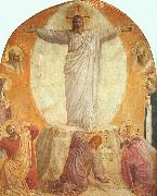Fra Angelico Transfiguration oil on canvas
