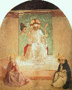 Fra Angelico The Mocking of Christ oil on canvas