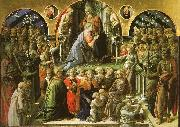 Fra Filippo Lippi The Coronation of the Virgin oil on canvas