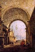 Francesco Guardi City View oil