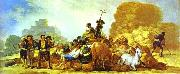 Francisco Jose de Goya Summer oil painting reproduction