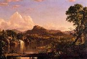 Frederic Edwin Church New England Scenery oil painting reproduction