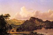 Frederic Edwin Church Home by the Lake painting