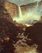 Frederick Edwin Church The Falls of Tequendama oil on canvas