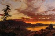 Frederick Edwin Church Sunset oil painting reproduction