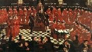GOSSAERT, Jan (Mabuse) The High Council sdg oil painting reproduction