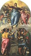 GRECO, El Assumption of the Virgin dfg oil painting reproduction