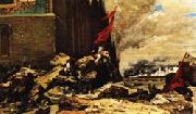 Georges Clairin The Burning of the Tuileries china oil painting artist