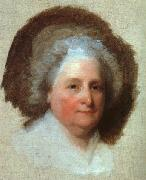 Gilbert Charles Stuart Martha Washington oil on canvas