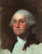 Gilbert Charles Stuart George Washington oil on canvas
