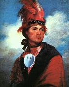 Gilbert Charles Stuart Portrait of Joseph Brant oil on canvas