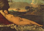 Giorgione Sleeping Venus dhh oil painting
