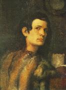 Giorgione Portrait of a Young Man dh oil painting