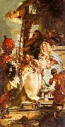 Giovanni Battista Tiepolo Mercury Appearing to Aeneas oil painting reproduction
