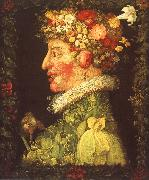Giuseppe Arcimboldo Spring oil painting reproduction