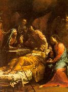 Giuseppe Maria Crespi The Death of St.Joseph oil on canvas