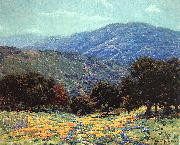 Granville Redmond Flowers Under the Oaks oil