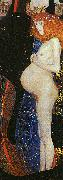 Gustav Klimt Hope I painting