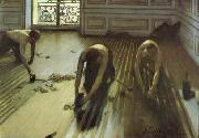 Gustave Caillebotte The Floor Strippers oil on canvas