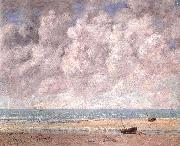 Gustave Courbet The Calm Sea oil on canvas