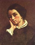 Gustave Courbet Juliette Courbet oil on canvas