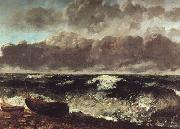 Gustave Courbet The Wave oil on canvas