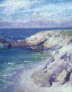 Guy Rose La Jolla Cove oil