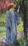 Guy Rose The Blue Kimono oil
