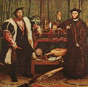 Hans Holbein The Ambassadors china oil painting artist