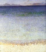 Henri Edmond Cross The Iles d'Or oil on canvas