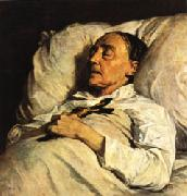 Henri Regnault Mme. Mazois ( The Artist s Great-Aunt on Her Deathbed ) oil
