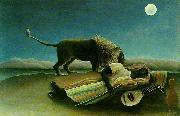 Henri Rousseau The Sleeping Gypsy oil