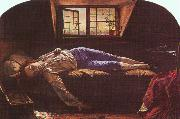 Henry Wallis The Death of Chatterton oil on canvas