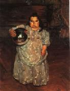 Ignacio Zuloaga The Dwarf Dona Mercedes oil