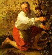 Jacob Gerritsz Cuyp The Grape Grower oil painting reproduction