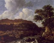 Jacob van Ruisdael The Great Forest oil
