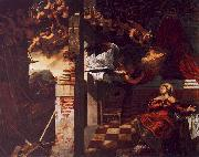 Jacopo Robusti Tintoretto The Annunciation oil