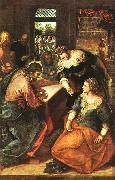 Jacopo Robusti Tintoretto Christ in the House of Martha and Mary oil