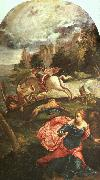 Jacopo Robusti Tintoretto St.George and the Dragon oil