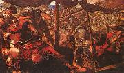 Jacopo Robusti Tintoretto Battle oil