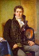 Jacques-Louis  David Portrait of the Count de Turenne oil on canvas