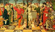 Jaime Huguet The Flagellation of Christ china oil painting artist