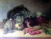James Peale Still Life with Balsam oil on canvas